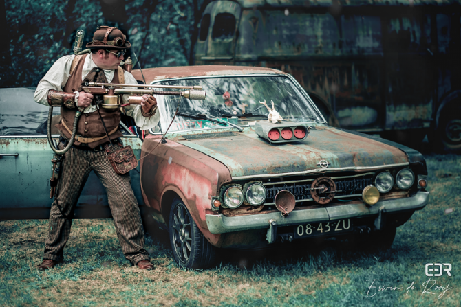 Steampunk – shooting pudding