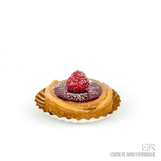 framboos-gebakje